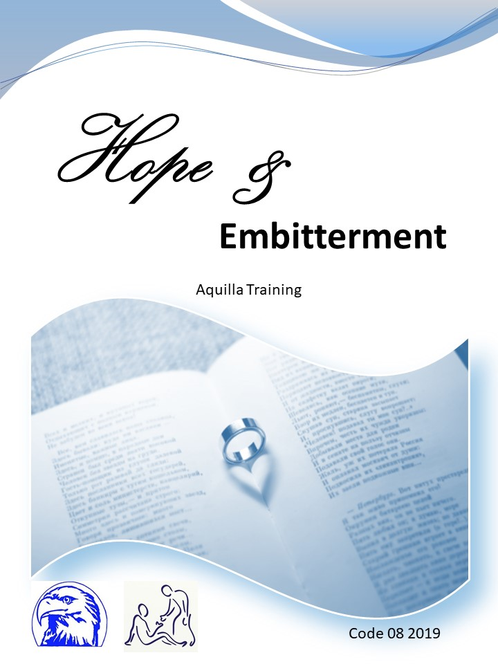 08 2019 Hope and embitterment