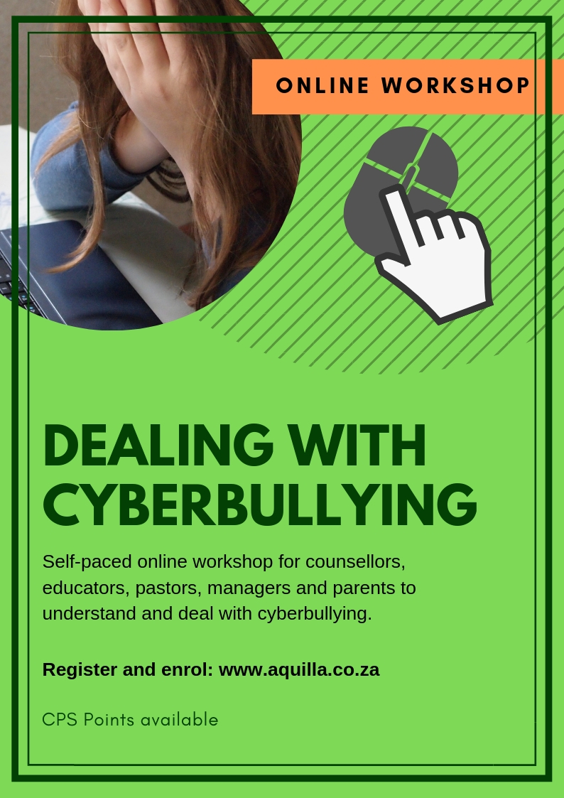 Cyberbullying online workshop