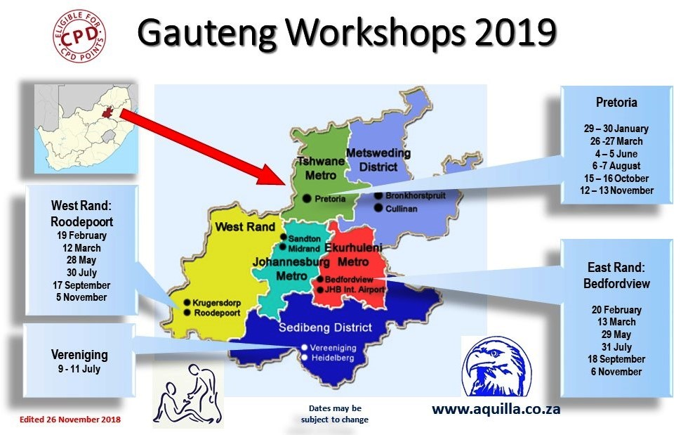 Gauteng Workshops 2019